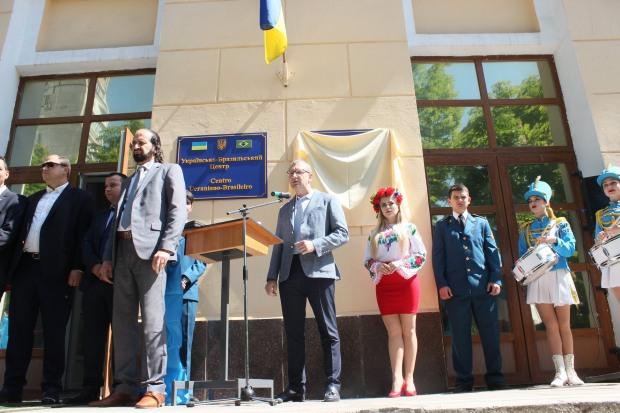 В Днепре заседало египетское землячество в новом Украинско-Арабском центре