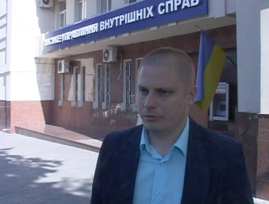 В Днепропетровске милиционер на досуге задержал грабителя