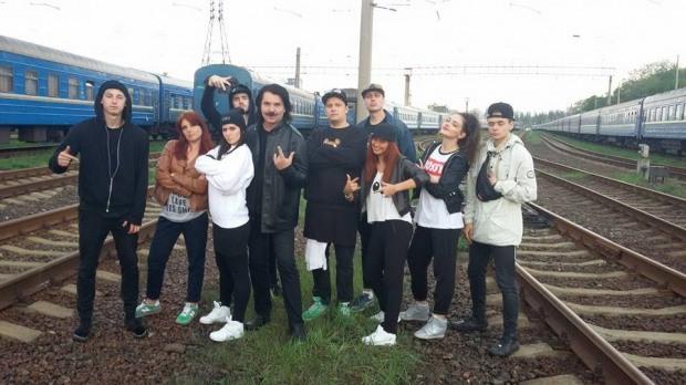 К польским железнодорожникам обратился украинский Плюшевый Бруклин (ВИДЕО)