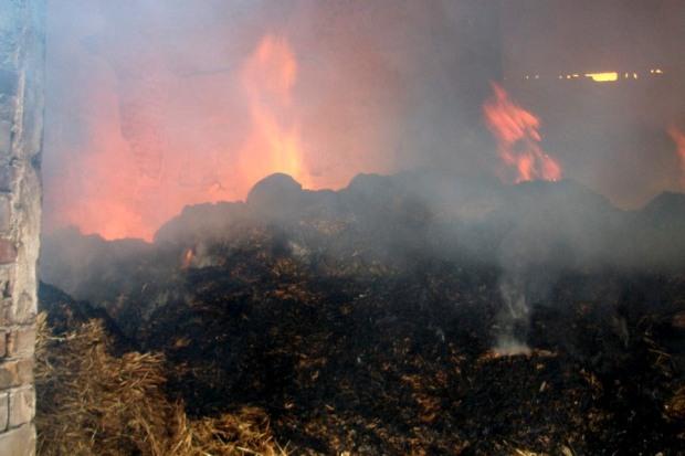 Вчера вечером в Новомосковске было два пожара