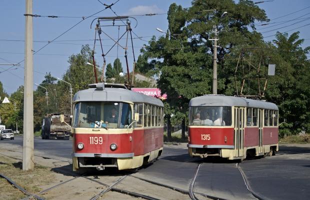 В Днепре трамваи и троллейбусы на четыре дня изменят маршрут