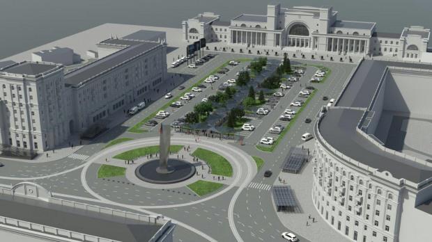 «Дольнику» доверили глобальную реконструкцию вокзальной площади Днепра