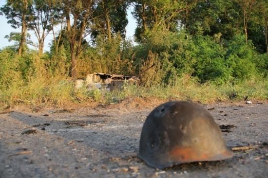 На Днепропетровщине откопали 36 мешков с личными вещами участников «Иловайского котла»