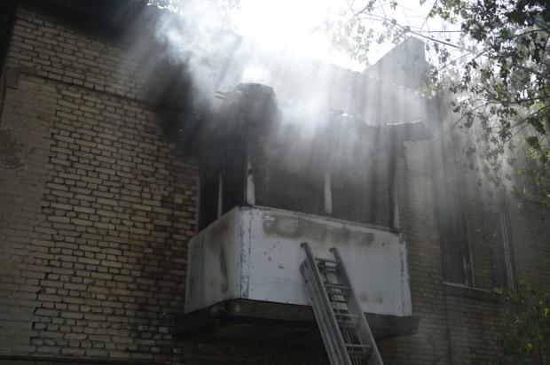 В Днепре сгорела квартира