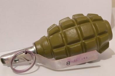 В Днепропетровске на обочине дороги нашли боевую гранату