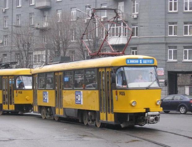 19 ноября днепропетровские трамваи изменят маршруты