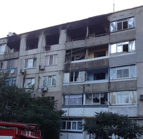 В Павлограде подозреваемый в убийстве устроил взрыв газа в жилом доме