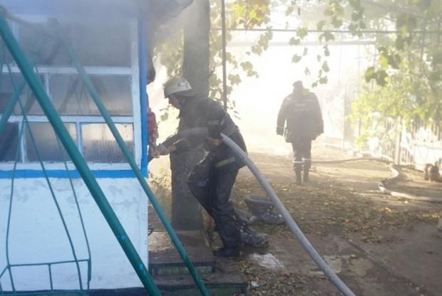 В Днепропетровской области на месте пожара нашли тело человека