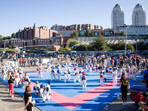 В Днепре прошел масштабный фестиваль спорта