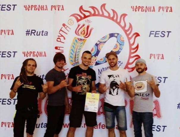 Група «SilverTown» з Кам'янського успішно виступила на Всеукраїнському музичному фестивалі «Червона Рута»