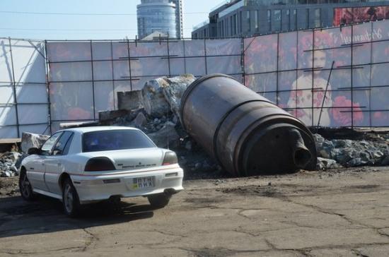 Памятник Ленину окончательно снесли