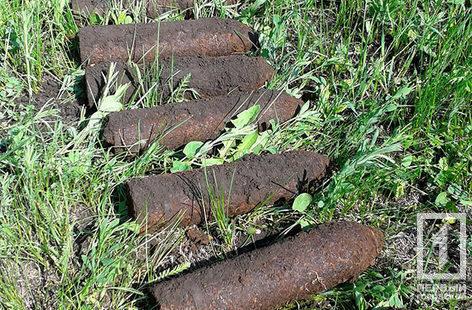 На Днепропетровщине обнаружили 33 снаряда времен Второй мировой