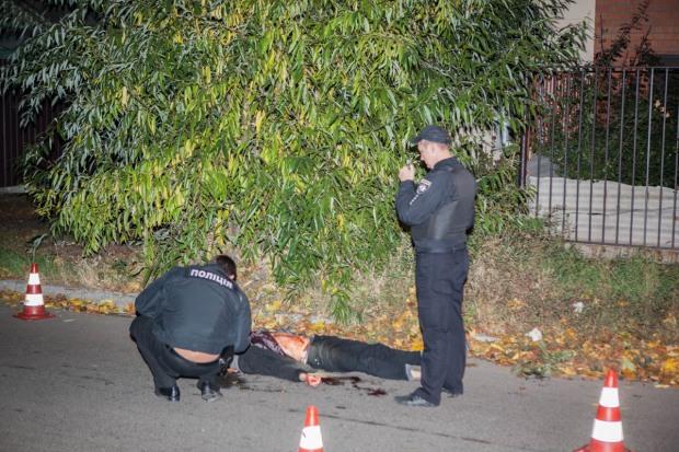 В центре Днепра убили парня, который звал на помощь