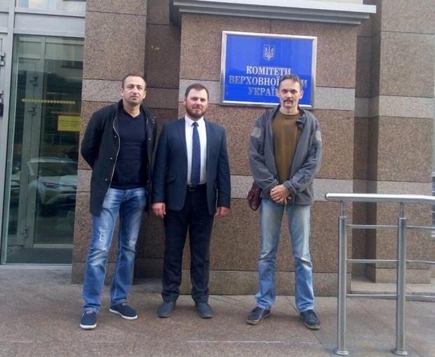 Активисты с Днепропетровщины рассказали в Верховной Раде о беззаконии в Новомосковском районе