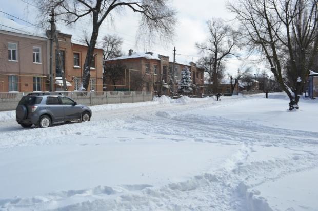 Снегопад на Днепропетровщине: выпала месячная норма осадков