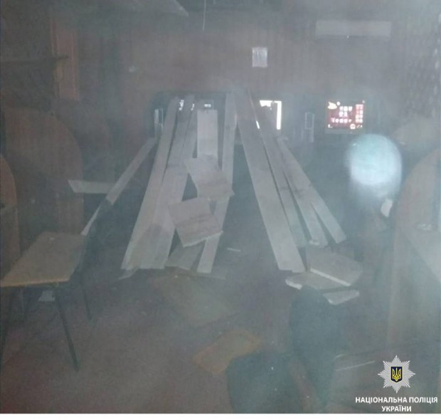 На Днепропетровщине подорвали зал игровых автоматов