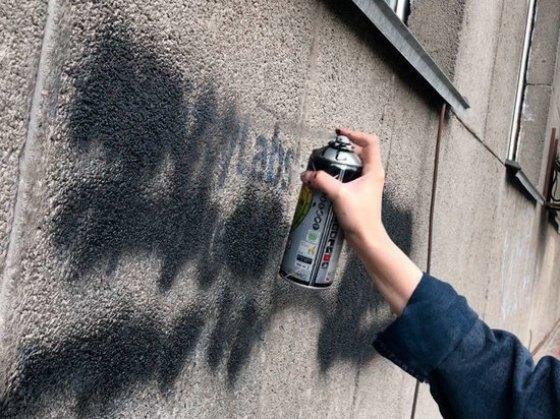 Днепровцев призывают на акцию по удалению «наркотических» надписей на домах