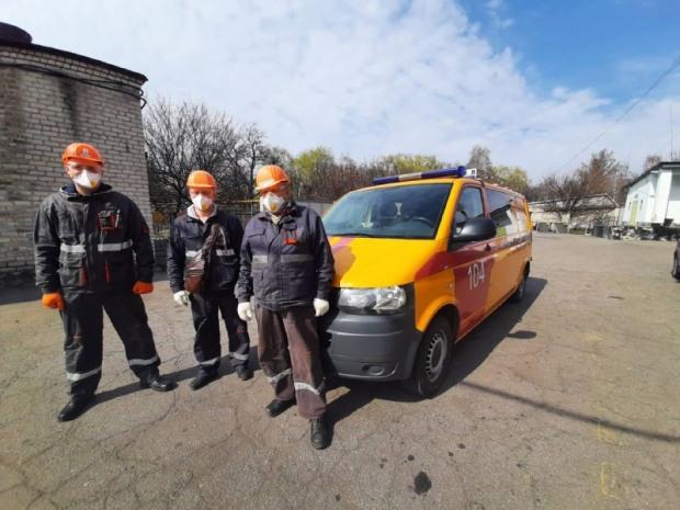 Почти 6,5 тыс выездов совершили аварийщики Днепропетровскгаза с начала карантина