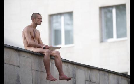 Московский художник отрезал себе мочку уха, протестуя против «политической психиатрии»