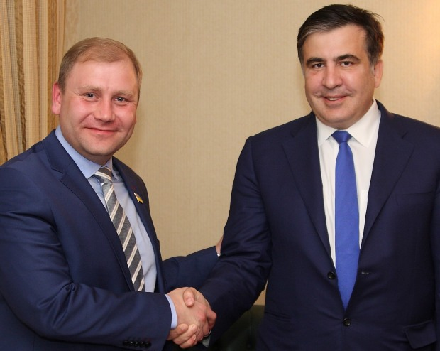 Максим Курячий провел рабочую встречу с Михаилом Саакашвили