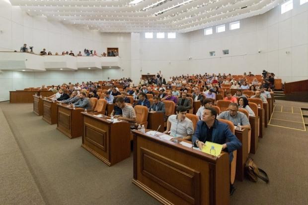 Во время сессии в Днепре выбрали кандидатов Госпитального совета