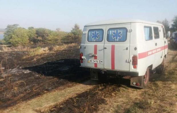На Днепропетровщине во время пожара обнаружили тело женщины