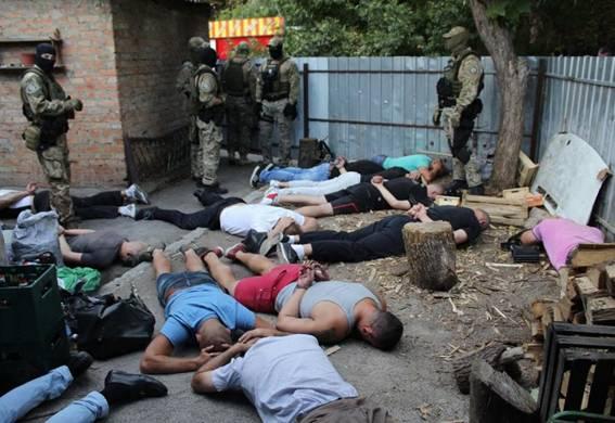Днепропетровский криминалитет посетил «сходняк» трех областей
