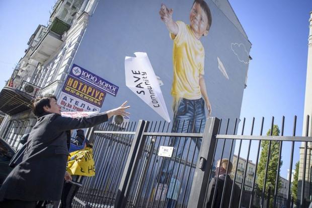 Активисты Днепропетровщины просят европейских инвесторов: «поддержите людей, а не корпорации!»