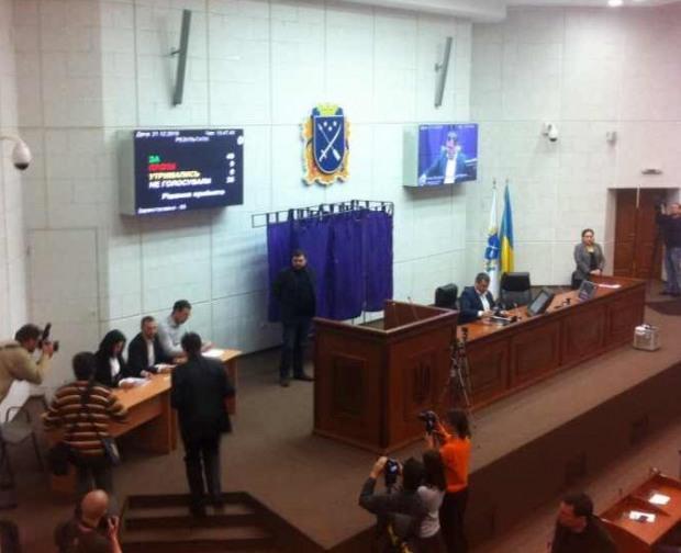 Примакова не избрали секретарем Днепропетровского горсовета
