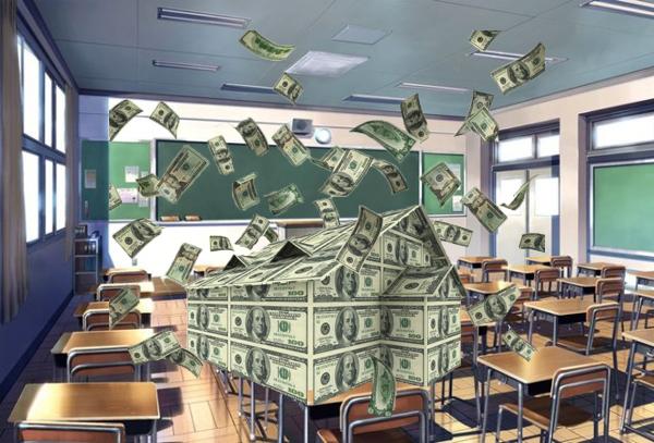 Чиновник вывел сотни тысяч гривен на мнимый ремонт детсадов и школ