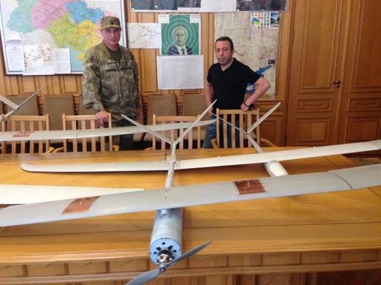 На Днепропетровщине налажено производство беспилотных самолетов для армии (ФОТО)
