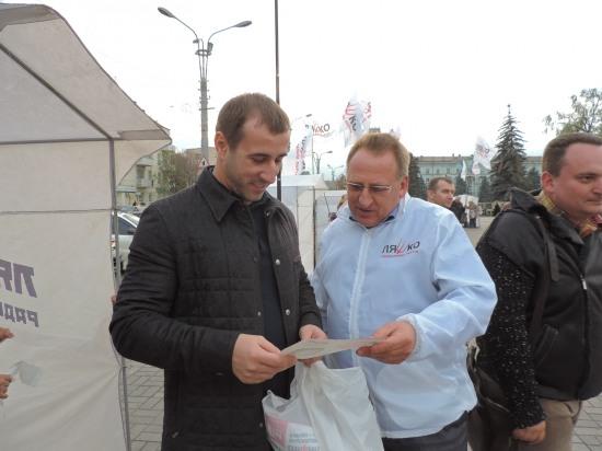 Радикальная Партия Олега Ляшко – партия среднего класса, – Сергей Рыбалка