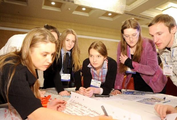 Молодежь Днепропетровщины представляет свое видение развития региона