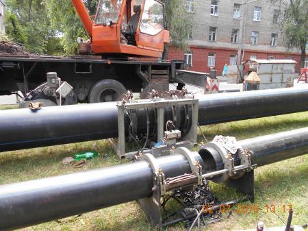 В Днепре проводится реконструкция канализационного коллектора