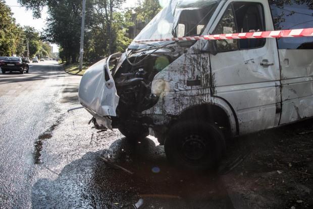 В Днепре в ДТП погиб водитель маршрутки