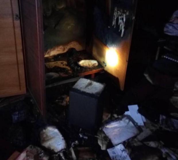 В Никополе пожар унес жизнь мужчины