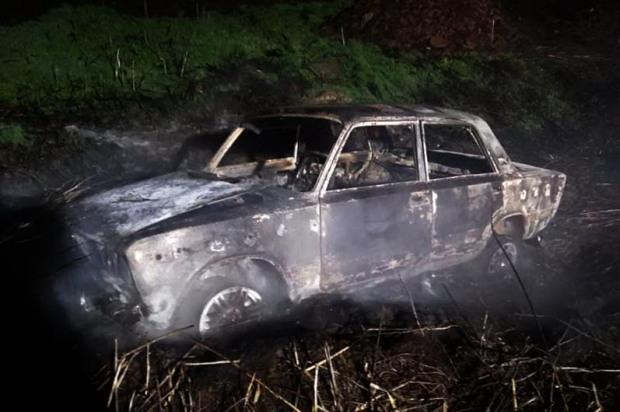 Всередині автомобіля в степу пожежники знайшли обгоріле тіло