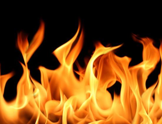 В Кривом Роге горела пятиэтажка