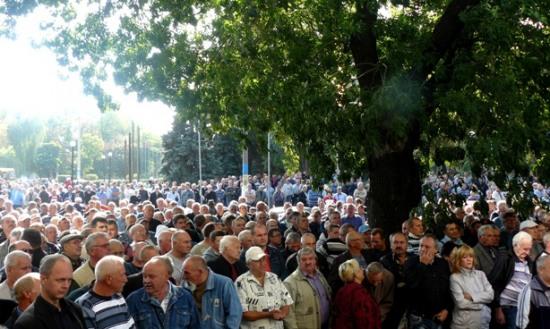 Шахтеры-инвалиды готовят в Киеве масштабный протест