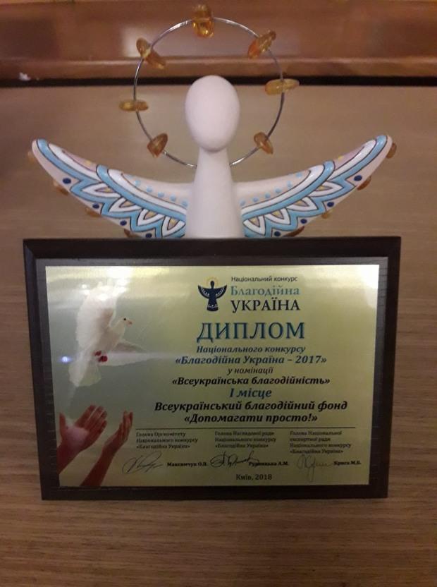 Благотворительный фонд ПриватБанка признан лучшим благотворителем Украины
