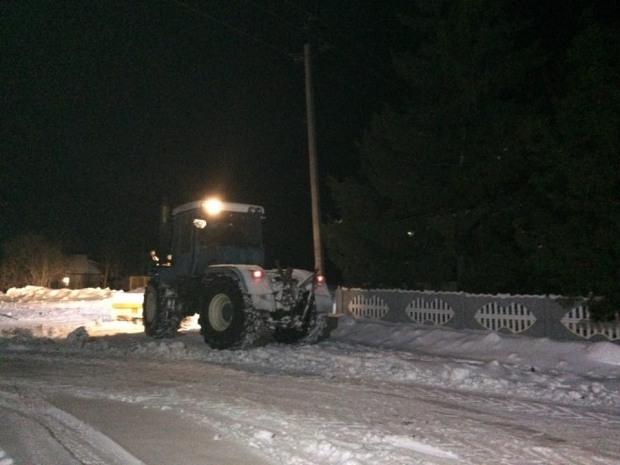 За сприяння  Гілала Ісаєва у  Байдаківському Старостинському окрузі звільнили дороги від снігових наметів