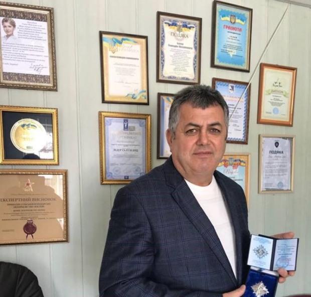 Гілал Ісаєв отримав нагороду за значну волонтерську діяльність та підтримку ЗСУ.