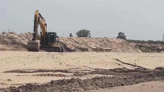 ГУ ДПС обіцяє з'ясувати, скільки і якої якості пісок продає ФОП Маляр А.В.