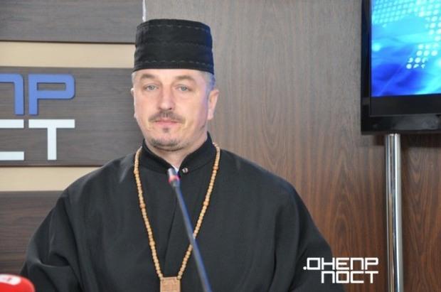Днепровское духовенство презентовало клип «Отче Наш»