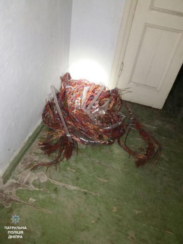 64-летний похититель кабеля перепутал ремонтников с коллегами-ворами