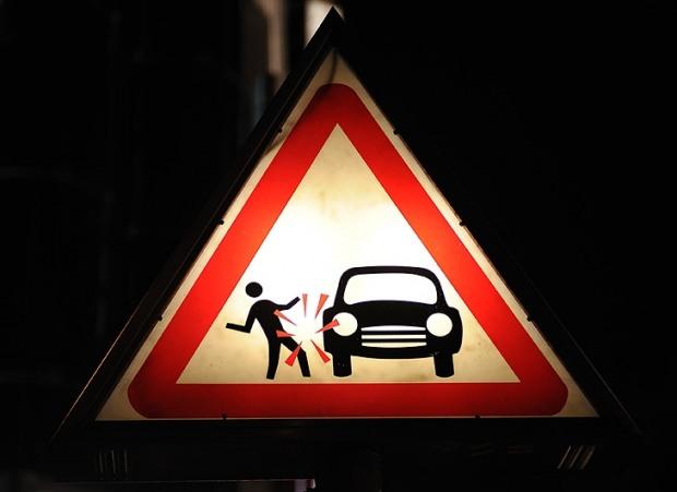 Січнева статистика ДТП: у п'ятницю аварійність зашкалює