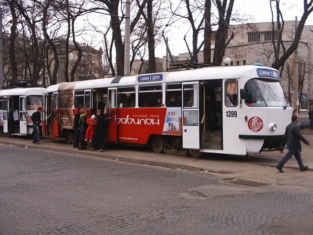 Сегодня и завтра днепропетровские трамваи изменят свои маршруты