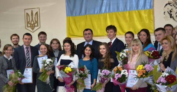 На Днепропетровщине наградили победителей трех научных областных конкурсов