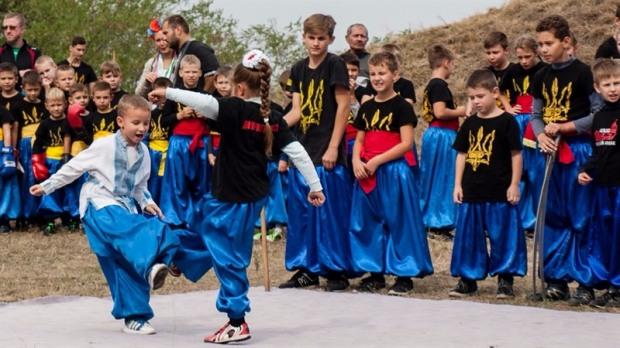 В Днепре прошло мероприятие в честь годовщины основания школы боевого искусства