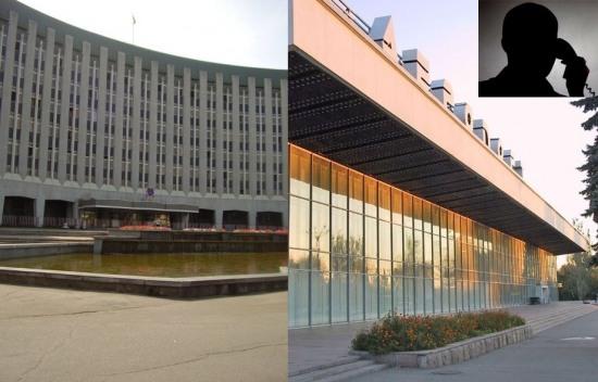 В Днепропетровске «минировали» аэропорт и коррупционеров